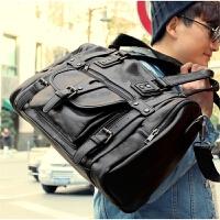韩版潮包商务休闲包 男士斜挎包男包包手提包单肩包旅行包大包