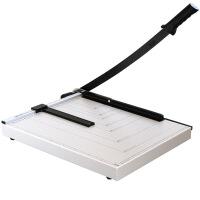 得力( deli)得力8012裁纸刀切纸机手动钢制刀片加厚照片切纸刀A3/A4/A5