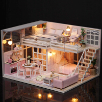 7-12岁儿童玩具过家家手工娃娃屋小女孩学生公主生日礼物