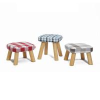 [下单有礼]一凳时尚简约实木小凳子阅读小矮凳布艺可拆洗换鞋凳搁脚凳摘菜凳沙发茶几凳