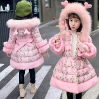 儿童4女童5小孩女孩6冬天7衣服秋冬装8加厚羽绒3棉袄12岁