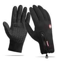 冬季骑行手套全指男女保暖防水自行车电动摩托车骑车装备手套