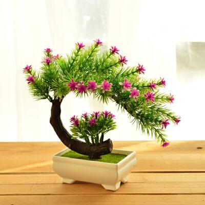 家居仿真花套装绿色植物盆景假花盆栽摆设客厅餐桌酒柜装饰品摆件