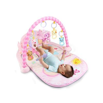 婴儿健身架器新生儿宝宝脚踏钢琴音乐游戏毯玩具0-1岁3-6-12个月