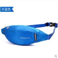 时尚男女士户外腰包手机音乐包夜跑步运动小包骑行贴身腰包防水隐形包