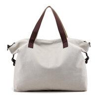 女包2018新品帆布袋购物袋大容量轻便手提单肩包斜跨包布艺包大包