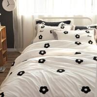 公主风珊瑚绒四件套宝宝绒绣花1.5m1.8m床上用品冬季柔软床单被套