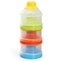 汤团妈妈Pigeon/贝亲 大容量三层奶粉盒存储盒 便携奶粉罐