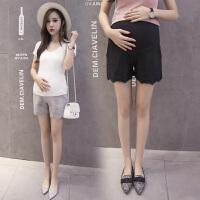 夏装防走光外穿打底裤夏季时尚薄款托腹裤子孕妇打底短裤