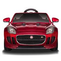 新款捷豹儿童电动车四轮童车可坐人男女宝宝小孩遥控充电玩具汽车