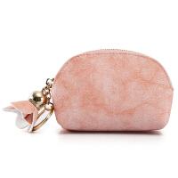 韩国小方包零钱包袋女迷你可爱花朵简约学生韩版个性硬币包多功能