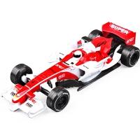 f1赛车遥控车F1赛车方程式赛车合金汽车模型雷诺小汽车跑车儿童玩具车回力车模A