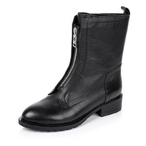 Tata/他她冬季专柜同款牛皮女靴V404DDZ5