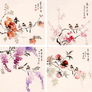 姜晓英《鸟语花香》