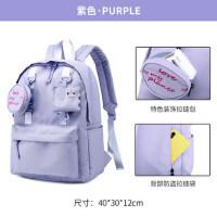 校园休闲出走旅行包日系百搭简约大学生书包韩版大容量包袋双肩包