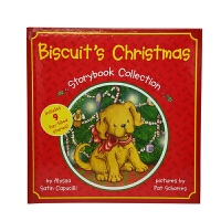 Biscuit's Christmas Storybook Collection 4-8岁