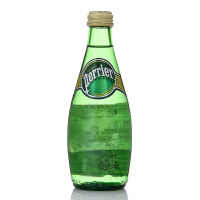 【中粮海外直采】Perrier巴黎水含气天然矿泉水 330ml(法国进口 瓶)