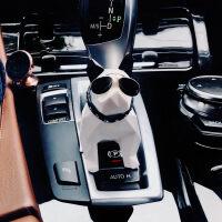 车载香水摆件几何法斗汽车香水香薰斗牛犬车内饰品摆件车用香水座 汽车用品