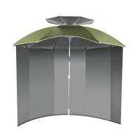 钓鱼伞户外2.2米万向围裙布折叠垂防晒风雨遮阳渔具用品