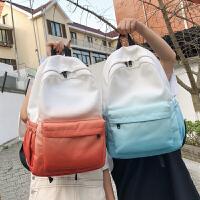 少女变书包女学生双肩包女新款高中百搭旅行背包