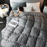 加厚保暖棉被夏凉被子冬被芯双人单人学生春秋空调被褥 200X230cm 8斤