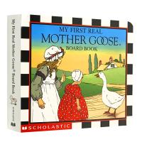 华研原版 鹅妈妈童谣 英文原版绘本 My First Real Mother Goose 全英文版进口纸板书籍正版现货