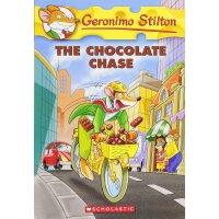Geronimo Stilton #67: The Chocolate Chase 英文原版 老鼠记者67:巧克力大追