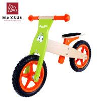 儿童平衡车木制滑行学步车德国小木车自行车儿童童车