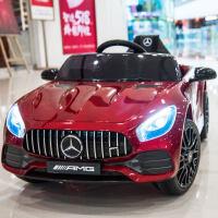 奔驰GT儿童电动车四轮跑车遥控汽车可坐宝宝童车小孩玩具车可坐人