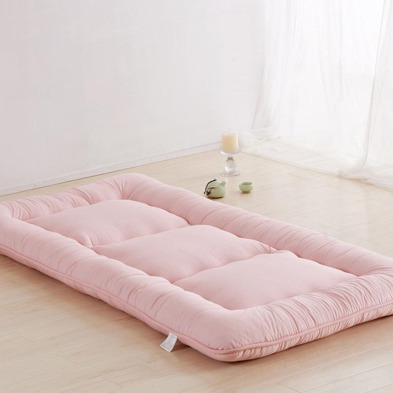 ???日式榻榻米床垫褥子 单人学生宿舍床垫双人加厚可折叠地铺垫