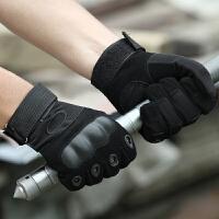 户外军迷用品作战训练防割战术手套全指作训手套骑行防滑男 均码