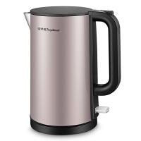 荣事达 Royalstar 电水壶电热水壶304不锈钢1.8L双层防烫烧水壶开水壶GS18B07