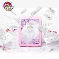 乐吉儿小花仙创意DIY画板手绘板儿童早教益智画画套装3-6周岁礼物