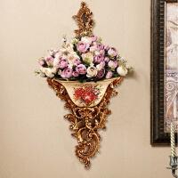 家居墙面装饰品创意背景墙壁饰花盆美式挂件复古挂饰墙上欧式壁挂