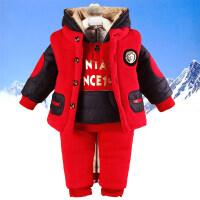 2018新款儿童装男童冬装三件套装男宝宝小孩衣服时尚3-4岁5韩版潮