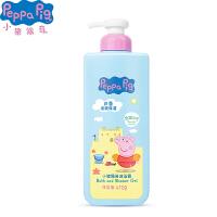 Peppa Pig 小猪佩奇儿童沐浴露天然燕麦芦荟洗护家庭装472毫升(芦荟)