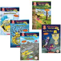 学乐分级读本神奇校车系列5册 英文原版 儿童英语启蒙绘本 The Magic School Bus Rides Again Scholastic Reader Level 2 英文版