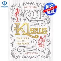 英文原版 克劳斯 圣诞节的秘密 电影设定集 Klaus: The Art of the Movie 圣诞老人 网飞出品