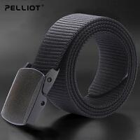 法国PELLIOT户外腰带男女运动尼龙皮带 特种兵战术腰带特勤武装带