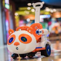 ?儿童电动车四轮汽车宝宝室内摇摇车带遥控玩具车可坐人婴儿摩托车