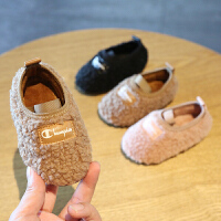 秋冬季宝宝鞋子女童棉鞋学步鞋软底婴儿0-1-2一3岁二棉儿童鞋公主