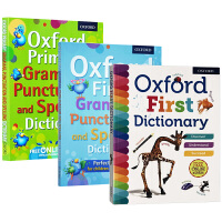 牛津儿童字典词典3本 英文原版 Oxford First Grammar Punctuation and Spelli