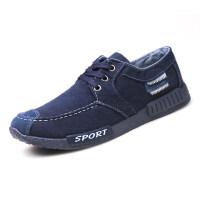 春季男士帆布鞋韩版休闲板鞋工作鞋子男百搭布鞋冬季加绒保暖棉鞋