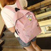 双肩包背包书包电脑包拉链旅行卡通中学院休闲新款男女男韩版