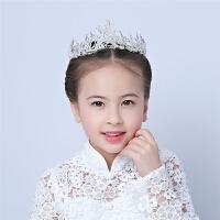 儿童皇冠头饰皇冠女童公主皇冠婚纱配饰生日饰品