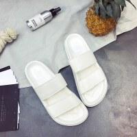 夏天拖鞋女夏时尚外穿厚底学生室内洗澡塑料凉拖鞋男