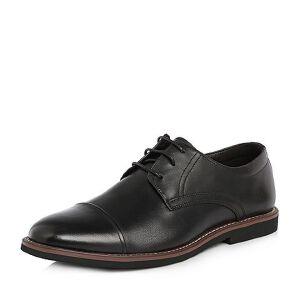 Tata/他她2018夏专柜同款牛皮商务绑带牛津鞋男皮鞋25J20BM8
