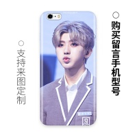 蔡徐坤手�C��iphone6plus/6/6s/7硅�z�と�包透�O果7plus十年新款