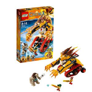 [当当自营]LEGO 乐高 Chima气功传奇系列 无敌狮的烈焰金狮战车 积木拼插儿童益智玩具 70144
