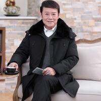 中老年冬季外套男冬衣服中年爸爸冬装中